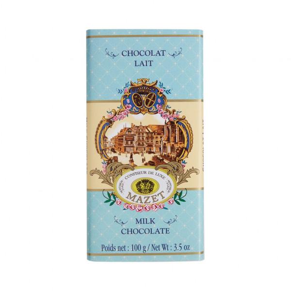 Mazet Confiseur Chocolat Lait 38% Vorderseite