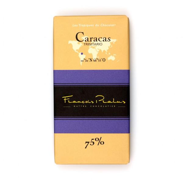François Pralus Caracas Trinitario 75% Vorderseite