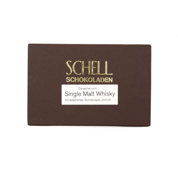 Schell Schokoladen Single Malt Whisky 70% Vorderseite