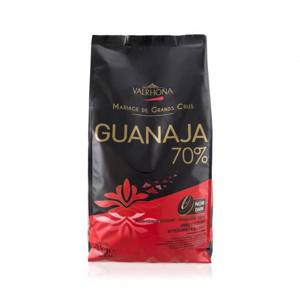 Valrhona Kuvertüre Noir Guanaja 70%