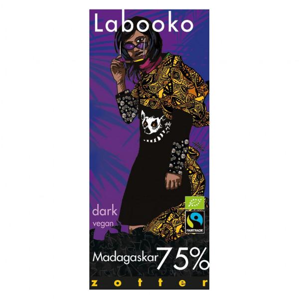 Zotter Labooko Madagaskar 75% Vorderseite