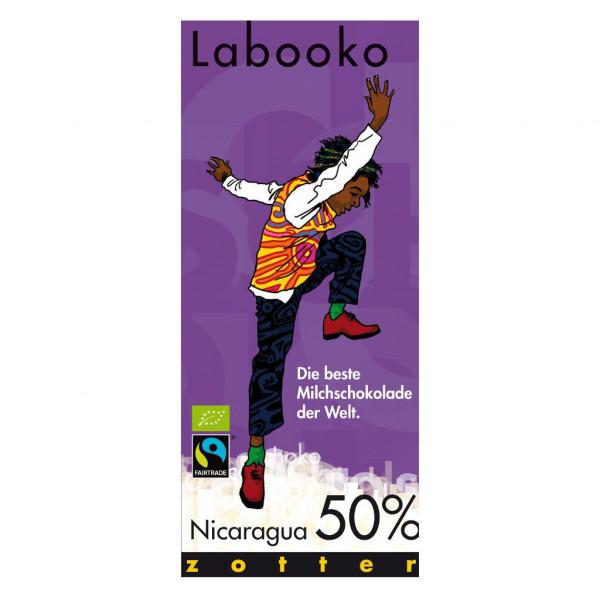 Zotter Labooko Nicaragua 50% Vorderseite