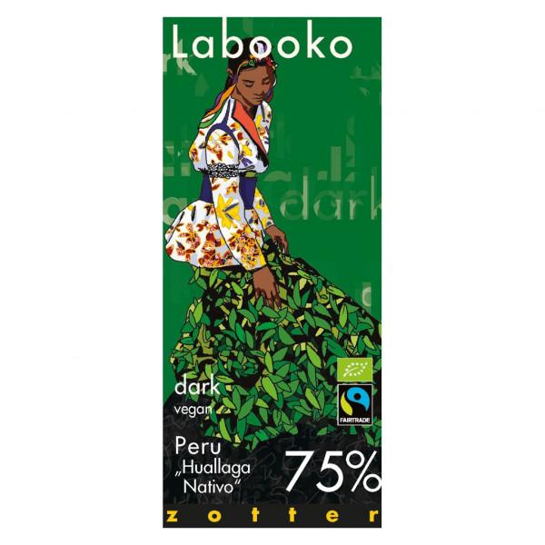 Zotter Labooko Peru Huallaga Nativo 75% Vorderseite