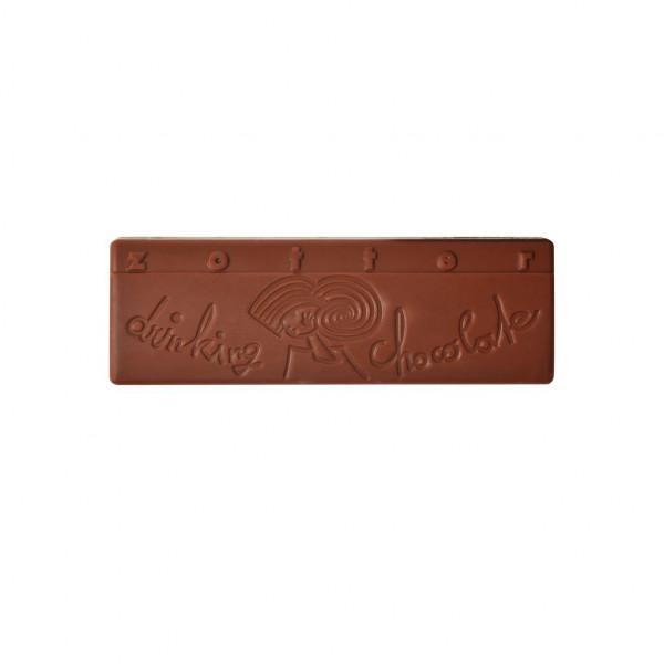 Zotter Trinkschokolade Variation Nuss- Nougat Innere 2