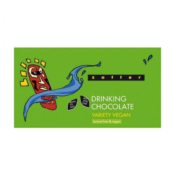 Zotter Trinkschokolade Variation Vegan Vorderseite